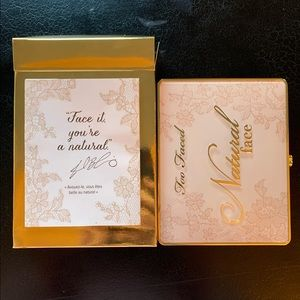 ✨Too Faced Natural Veil Face Palette✨